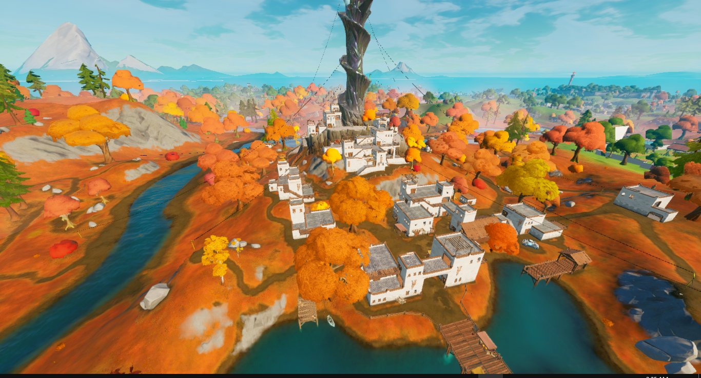 Fortnite the spire