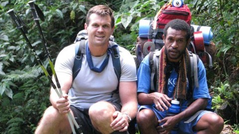 Paul Harragon on the Kokoda Trail