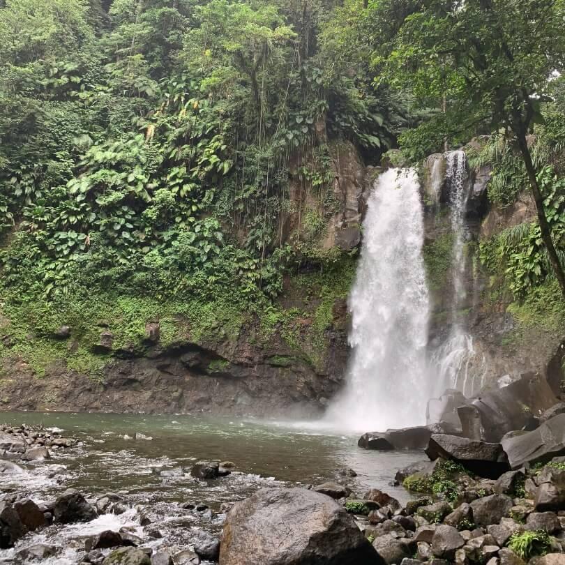 Troisième chute du Carbet - Guadeloupe