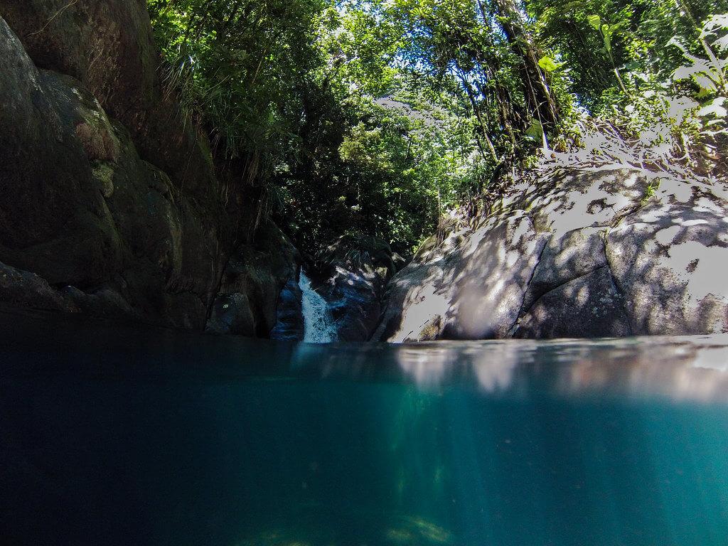 Bassin Bleu Gourbeyre - Cascades Guadeloupe