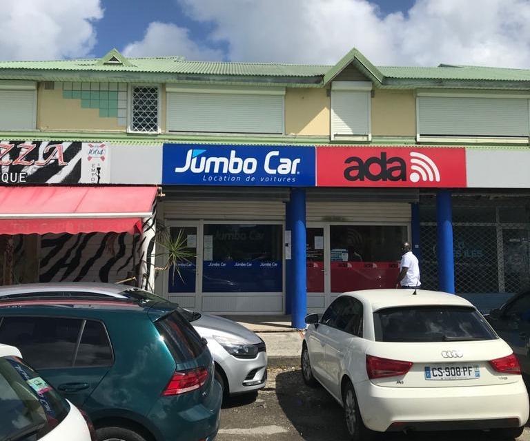 Agence Jumbo Car Le Gosier Guadeloupe - Façade