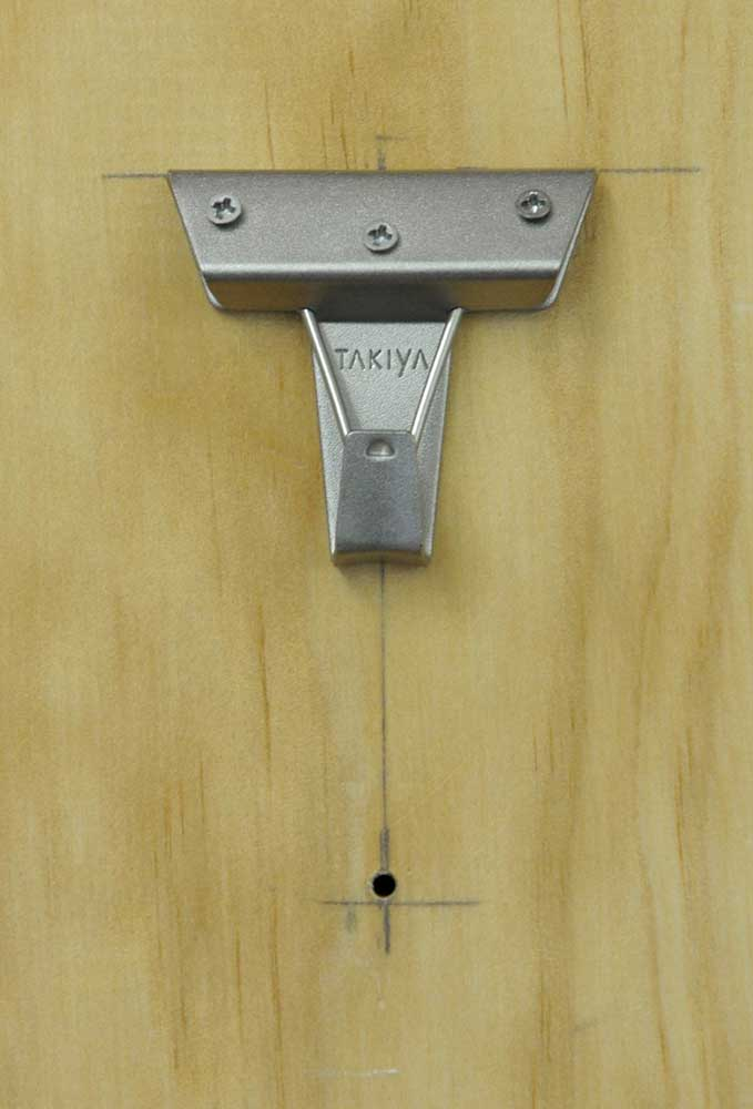 An example of a Japanese made Takiya seismic hook