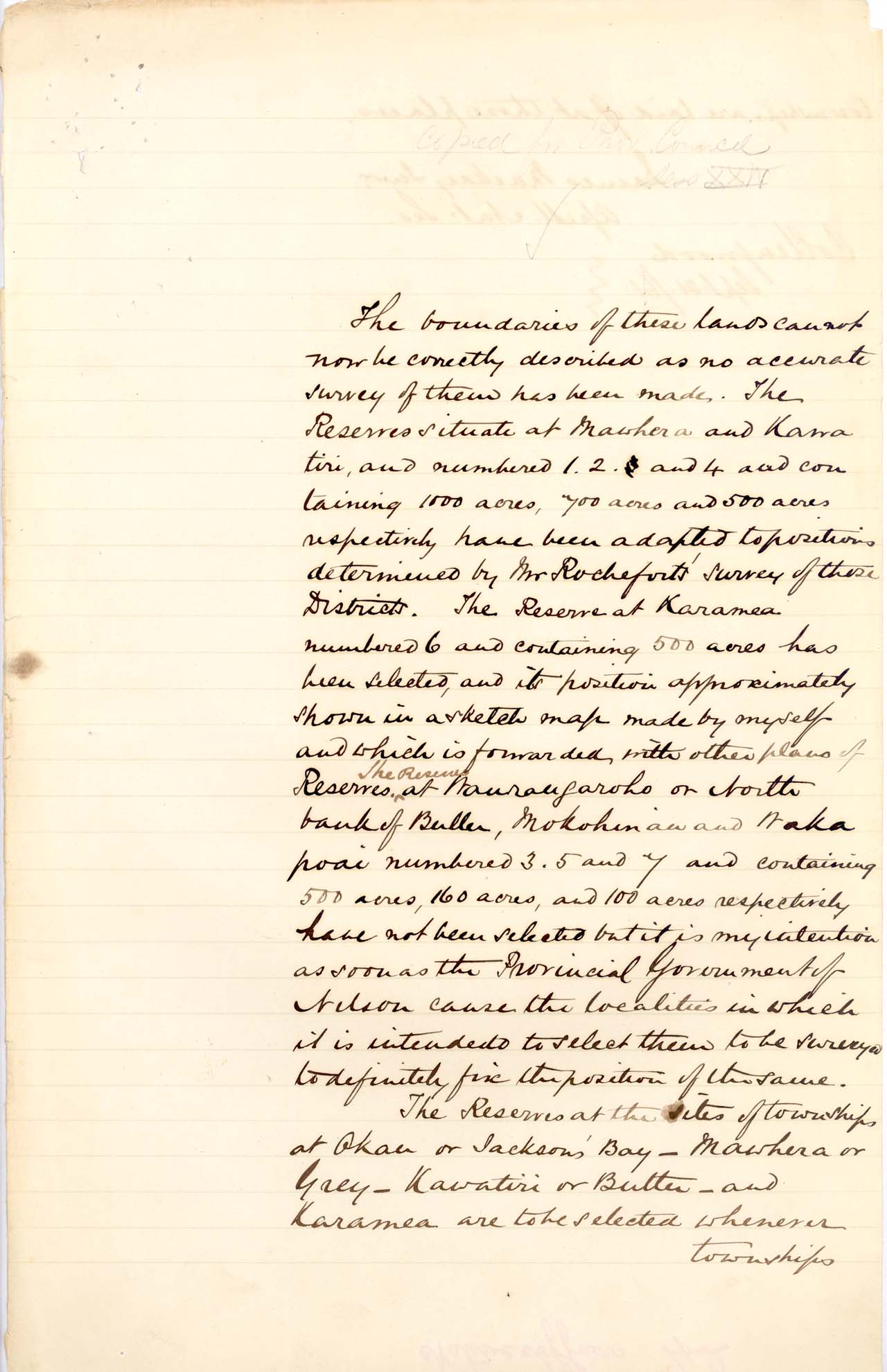 Boundaries of Poutini Maori Purchase - 1861 - Page 2