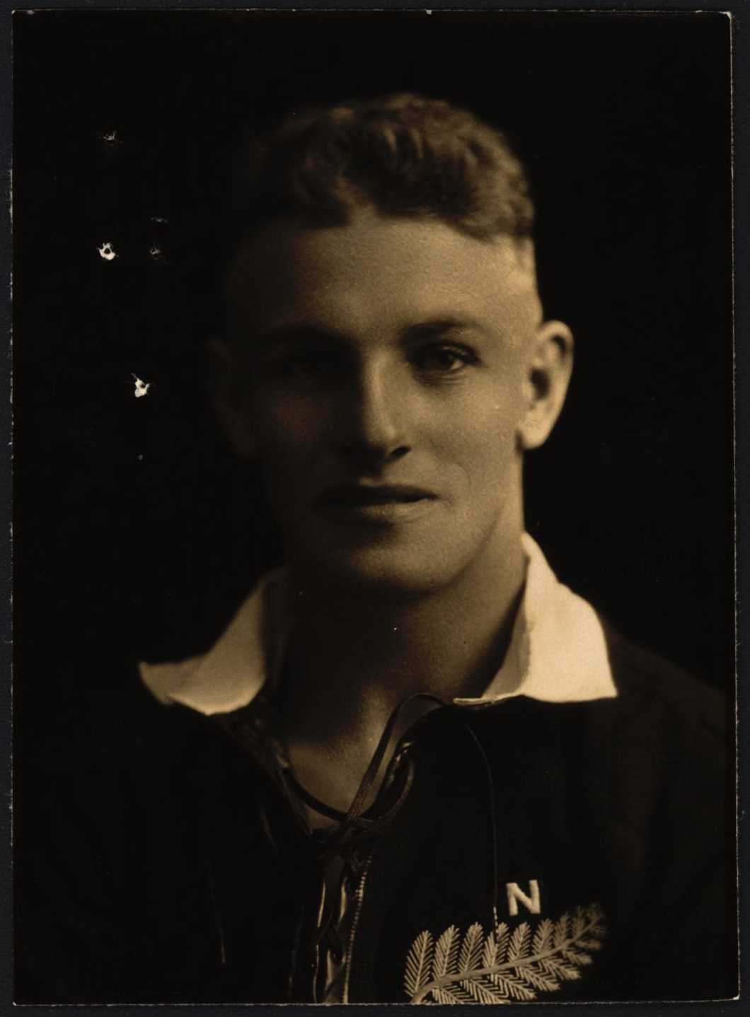 Albert Edward Cooke passport photo