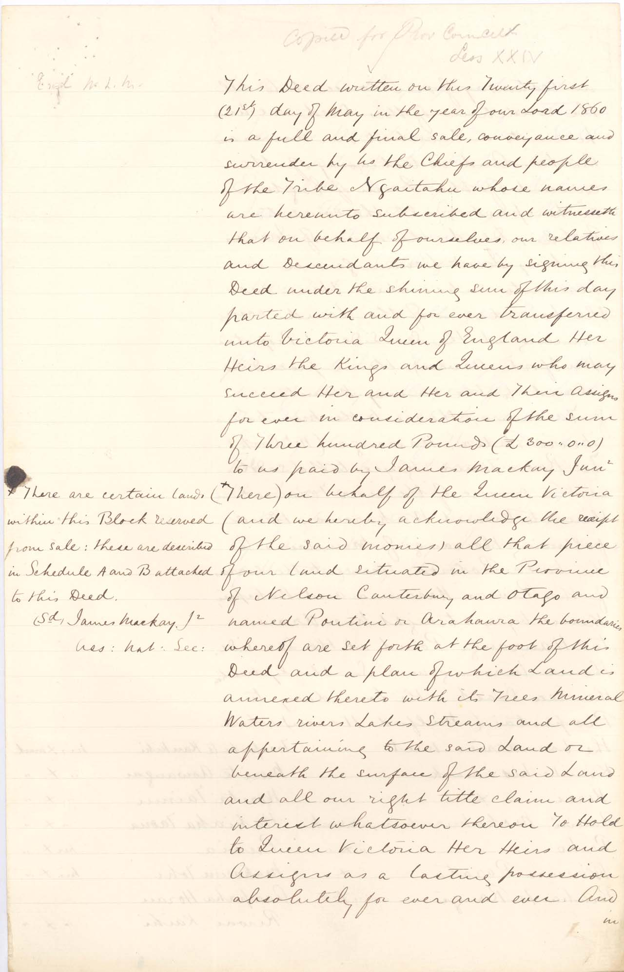 [Copy of Poutini Maori Purchase] - 1861 - Page 1
