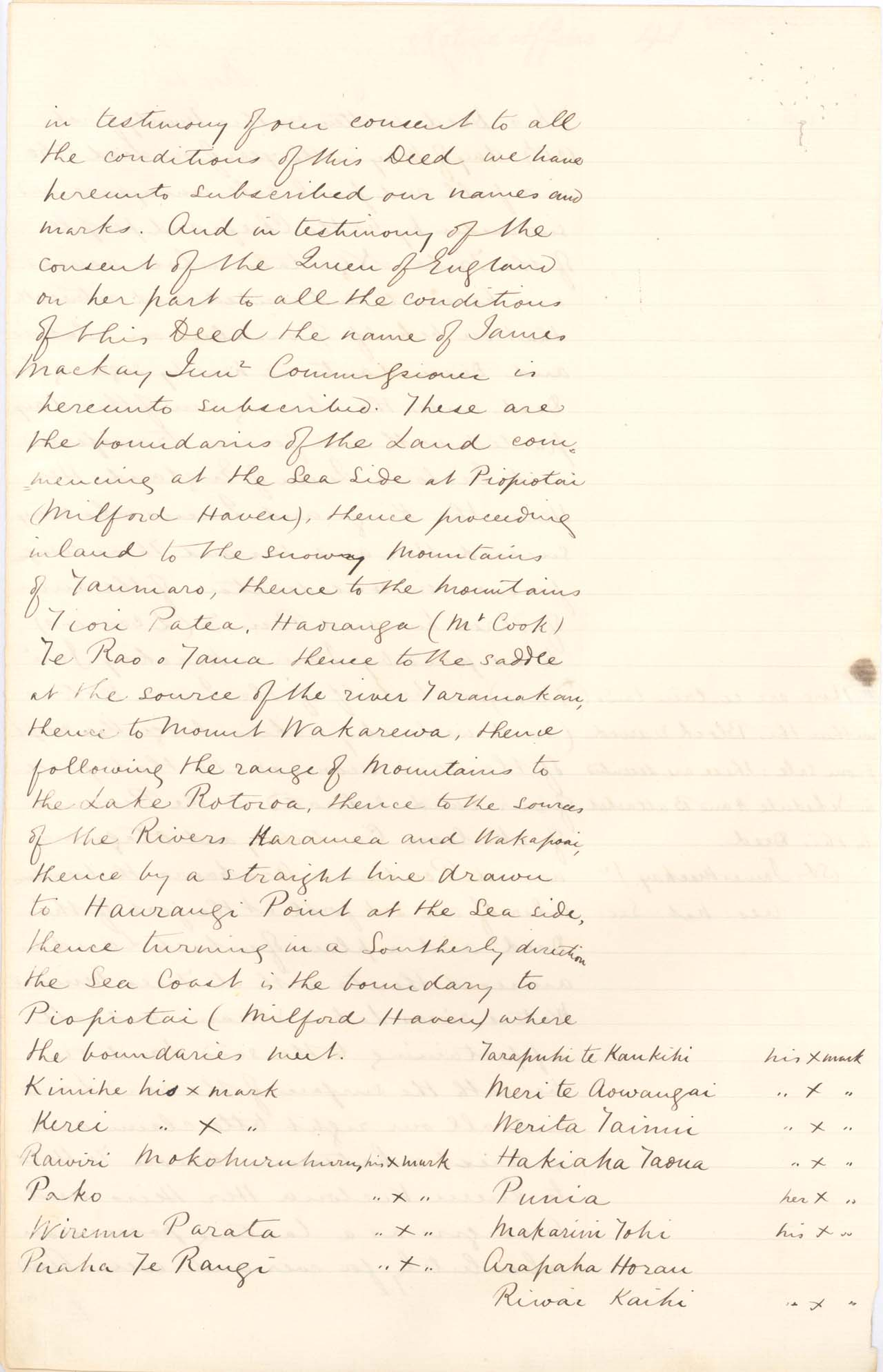 [Copy of Poutini Maori Purchase] - 1861 - Page 2