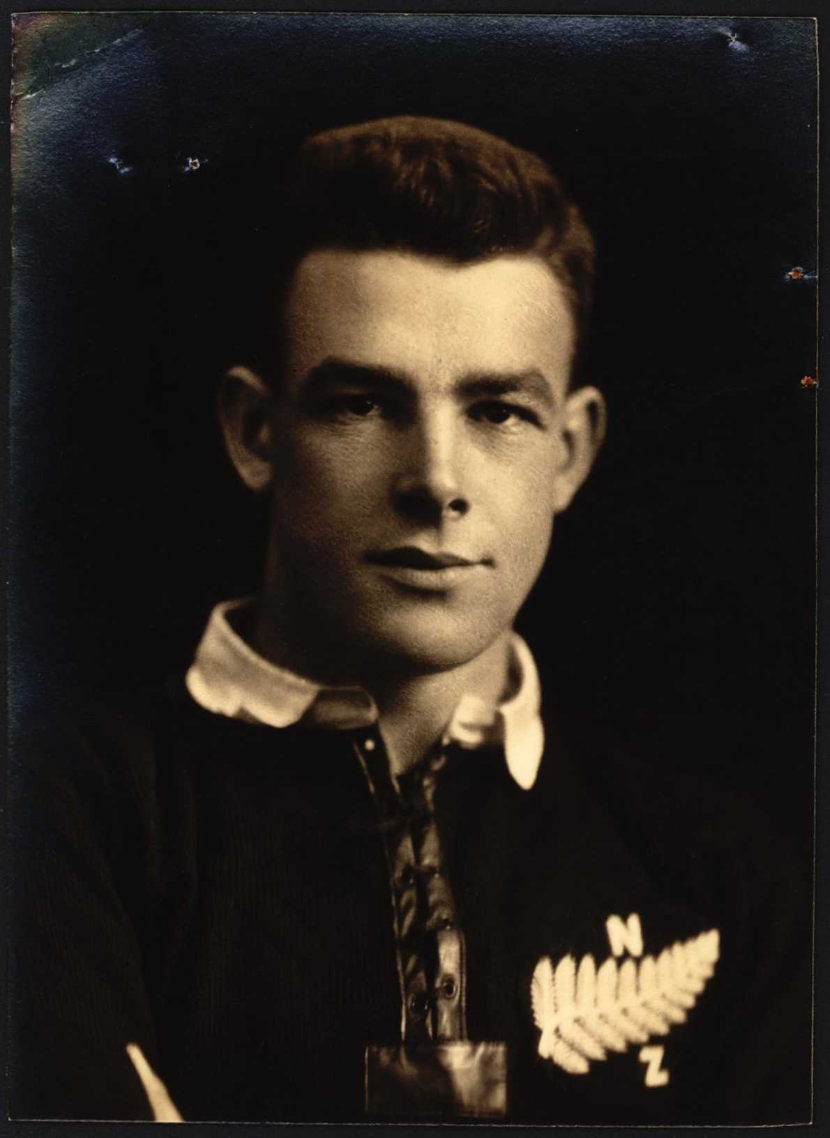 Alan Charles Comptom Robilliard passport photo