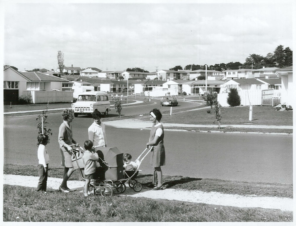 Housing in Waiuku, Auckland