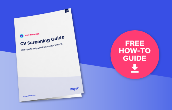 CV Screening Guide