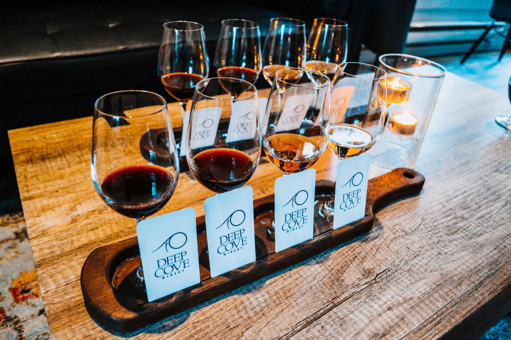 Deep Cove Winery: a tasting to remember