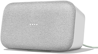 Angled Chalk Google Home Max