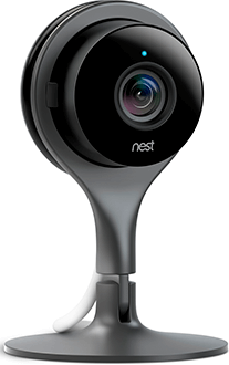 Nest Cam Indoor Front Angled View