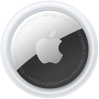 Back of Apple Airtag
