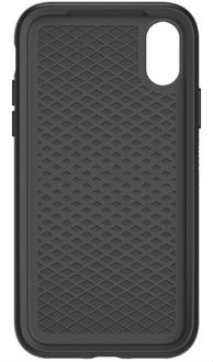 Black OtterBox iPhone X Symmetry Case Front View