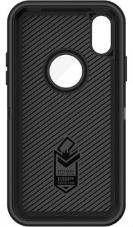 Black OtterBox iPhone X Defender Case Front View
