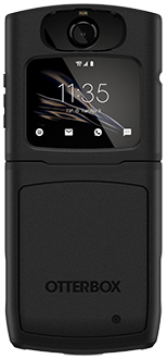 Black OtterBox razr Symmetry Case Back
