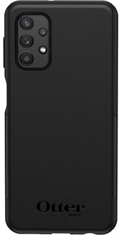 Black OtterBox Galaxy A32 Commuter Lite Case Back