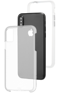 Clear Case-Mate Naked Tough - Apple iPhone X Case Front View