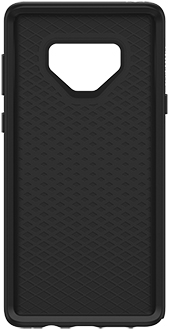 Black OtterBox Galaxy Note9 Symmetry Case Front