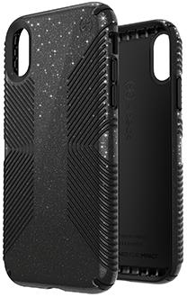 competitive price df60e dd990 Speck Presidio Grip Glitter Case (iPhone XR)