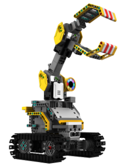 Jimu Robot Front View with Claw