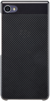 Dark Grey BlackBerry Motion Hard Shell Case Back View