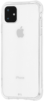 Angled Case-Mate Tough Clear iPhone 11 Case Back