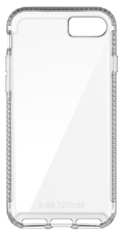 Clear Tech 21 Pure Clear - iPhone 7/8 Case Back View