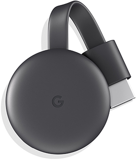 Charcoal Google Chromecast Front