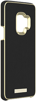 Angled Saffiano Black kate spade Galaxy S9 Wrap Case