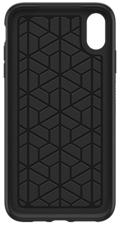 Black OtterBox iPhone Xs Max Symmetry Case Front