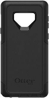 Black OtterBox Galaxy Note9 Defender Case Back