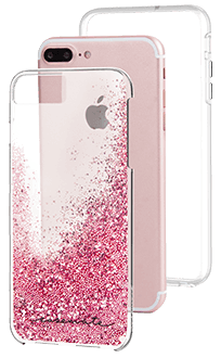 Rose Gold Case-Mate Waterfall - iPhone 6 Plus/6s Plus/7 Plus/8 Plus Case with Phone