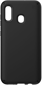 Black Speck Presidio Pro Galaxy A20 Case Back