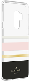 Angled Charlotte Stripe kate spade Galaxy S9+ Hardshell Case
