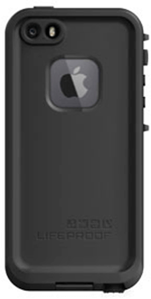 Black LifeProof FRĒ iPhone 5/5S/SE Case Back View