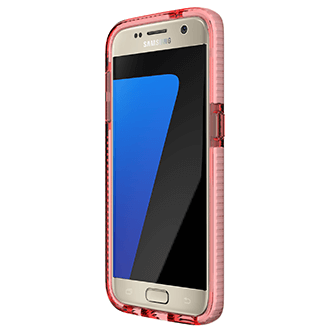 Rose/White Tech 21 Evo Check - Samsung Galaxy S7 Case Front View