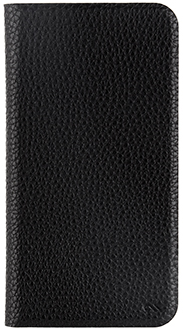 Black Case-Mate Barely There Folio iPhone XR Case Front