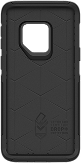 Black OtterBox Galaxy S9 Commuter Case Front View