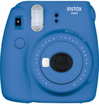 Cobalt Blue Instax Mini Printing Photo Front View