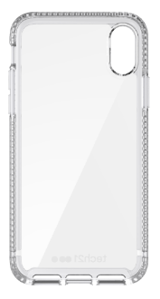 Clear Tech 21 Pure Clear - iPhone X Case Front View