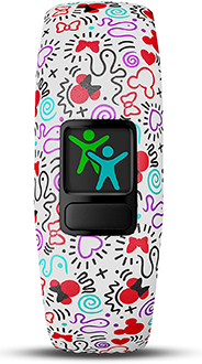 Minnie Mouse Garmin vivofit jr. 2 Activity Tracker Front