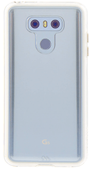 Clear Case-Mate Naked Tough - LG G6 Case Back View