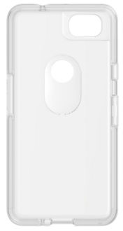 Clear OtterBox Pixel 2 Symmetry Case Front View