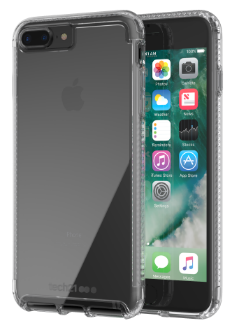 Clear Tech 21 Pure Clear - iPhone 7 Plus/8 Plus Case Back View