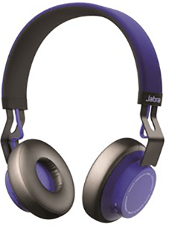 Cobalt Jabra Move Wireless Headphones Angled Front View