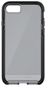 Smokey/Black Tech 21 Evo Check - iPhone 7/8 Case Back View