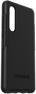 Black OtterBox Huawei P30 Symmetry Case Angled View