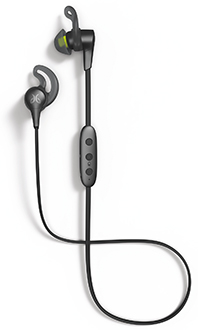 Black Metallic-Flash Jaybird X4 headphones side