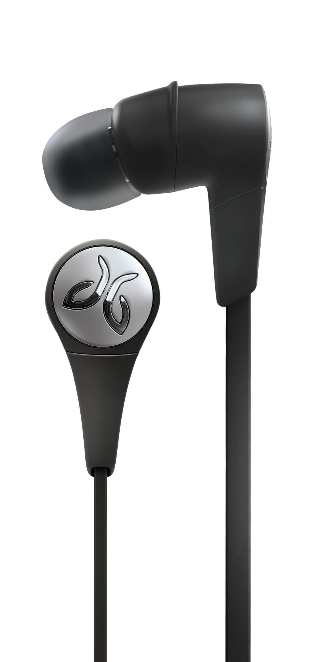Jaybird X3 Sport Bluetooth Headphones Headset Blackout Earbuds Close Up